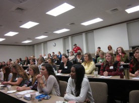 Audience at Women of Warnell Panel Discussion